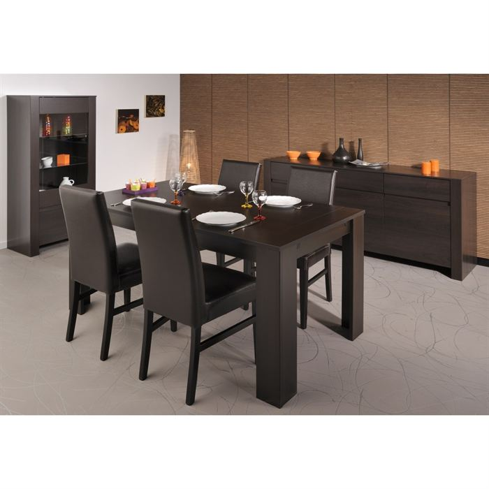 Table a manger chaises maison design for Table plus chaises salle manger
