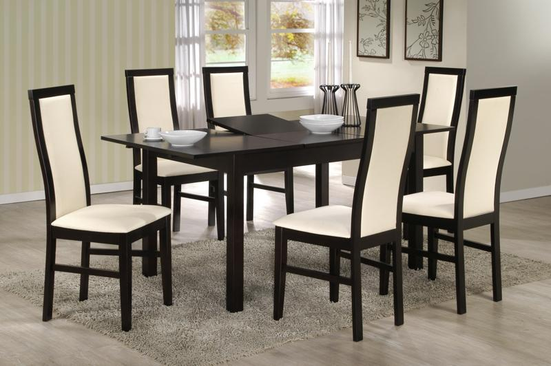 table et chaises de salle a manger design. Black Bedroom Furniture Sets. Home Design Ideas