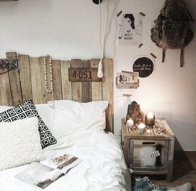 Trouver tete de lit en palette - Trouver des palettes ...