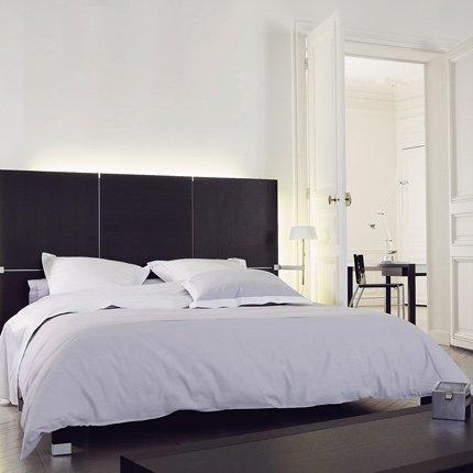 gallery of tete de lit lambris with tete de lit lambris. Black Bedroom Furniture Sets. Home Design Ideas
