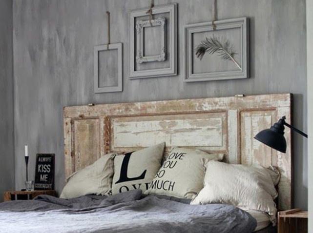 tete de lit vieux volets