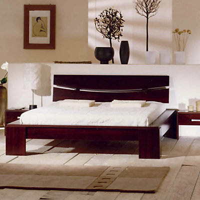 mod le tete de lit zen 140. Black Bedroom Furniture Sets. Home Design Ideas