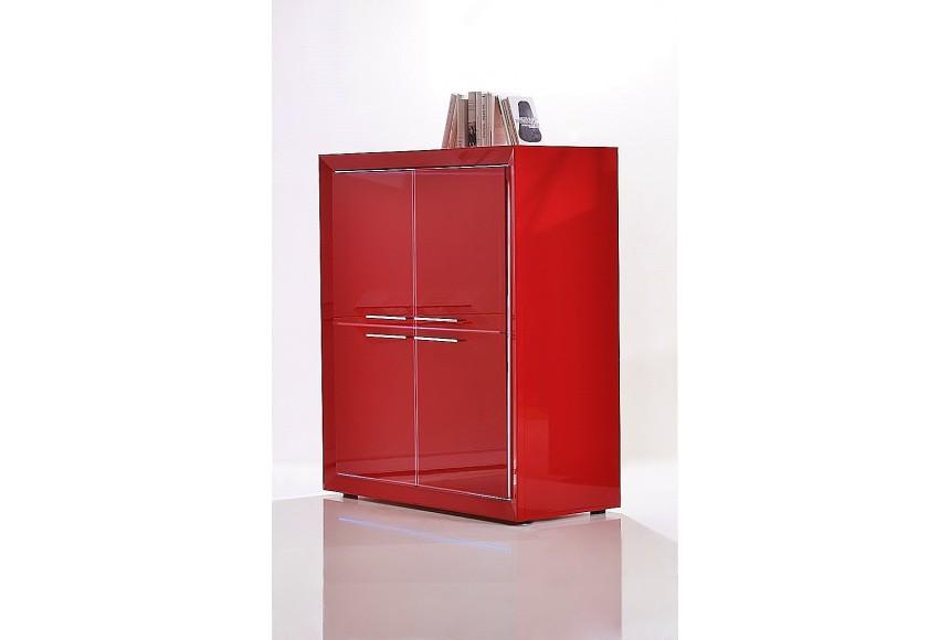 Bibliothèque chinoise, vaisselier rouge  mobilierdasie