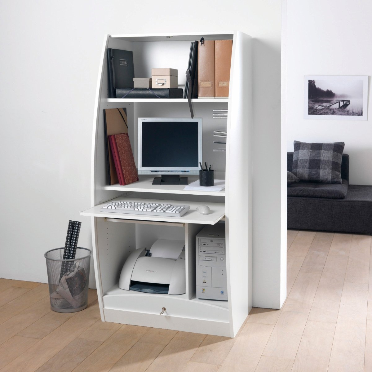 armoir bureau armoire de bureau ikea with contemporain. Black Bedroom Furniture Sets. Home Design Ideas