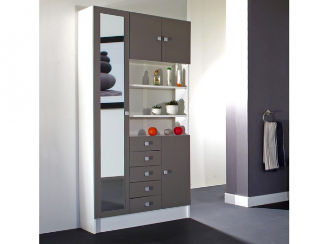 armoire salle de bain pas cher. Black Bedroom Furniture Sets. Home Design Ideas