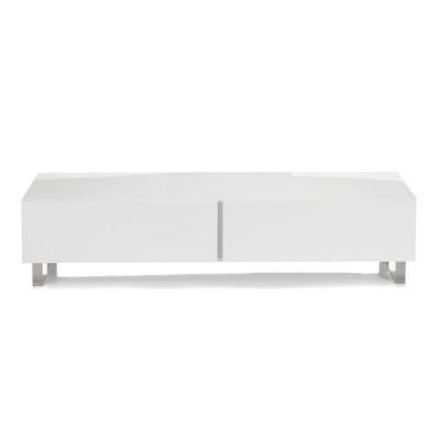 banc de lit blanc laque