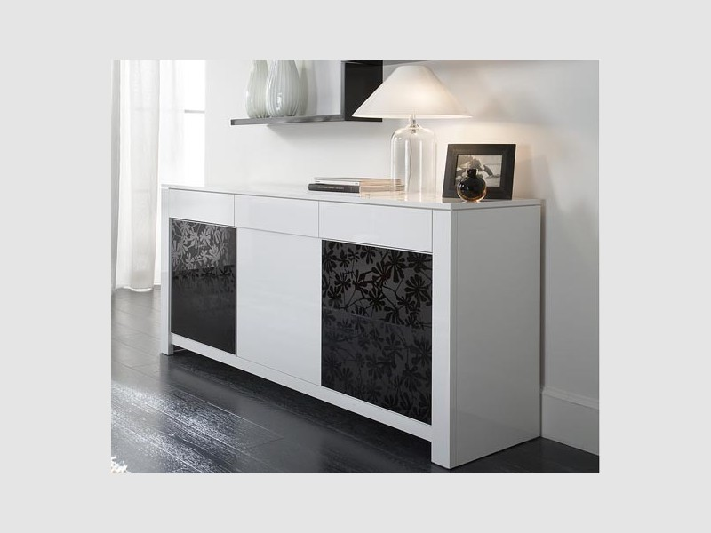 buffet bas design italien. Black Bedroom Furniture Sets. Home Design Ideas