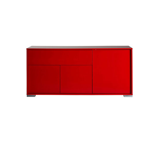 Buffet bas rouge for Meuble chinois lyon