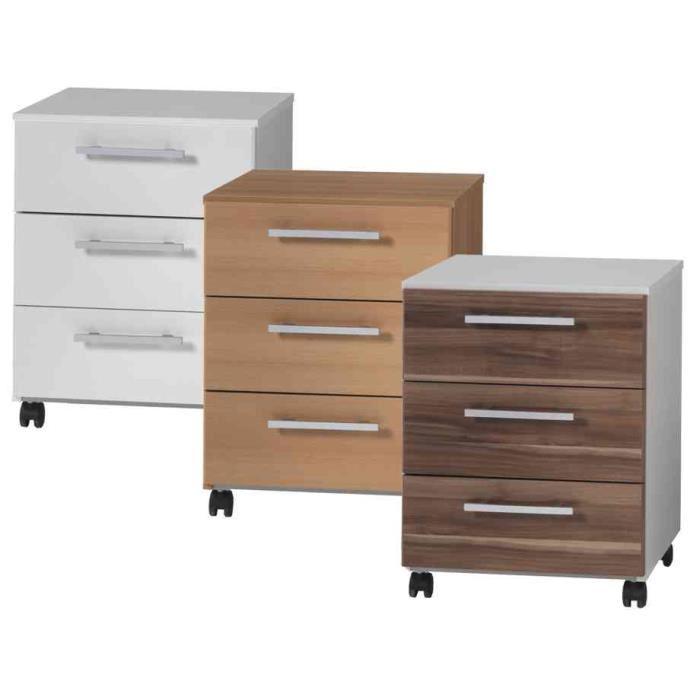 Caisson de bureau 3 tiroirs for Bureau 8 tiroirs