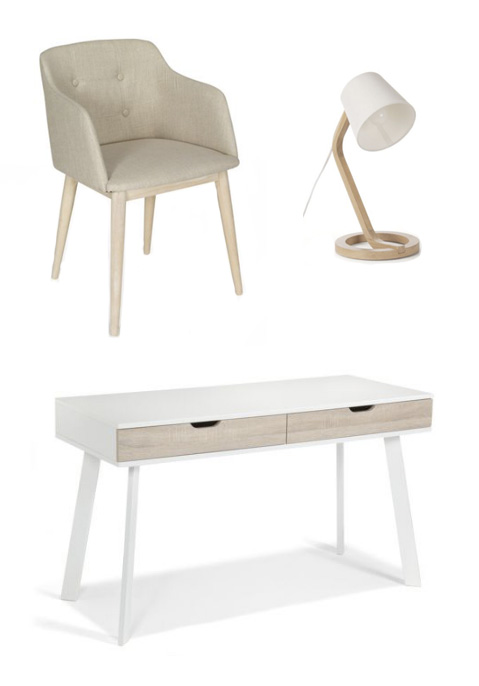 Photo chaise de bureau alinea for Alinea chaise
