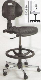 chaise de bureau d'architecte
