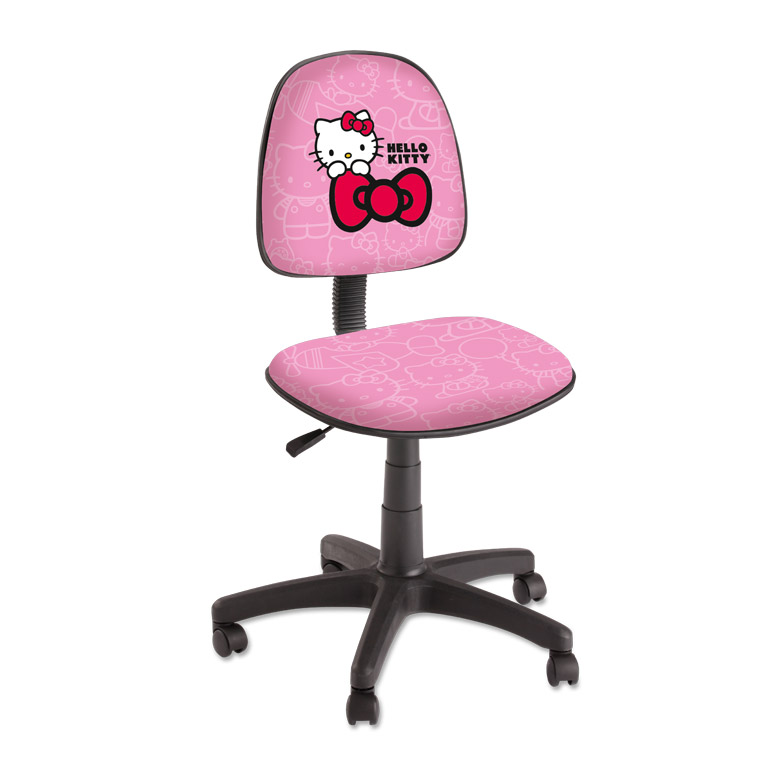 chaise de bureau hello kitty. Black Bedroom Furniture Sets. Home Design Ideas