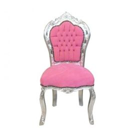 Chaise de bureau rose pas cher - Chaises baroques pas cher ...