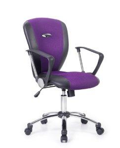 chaise de bureau violet. Black Bedroom Furniture Sets. Home Design Ideas