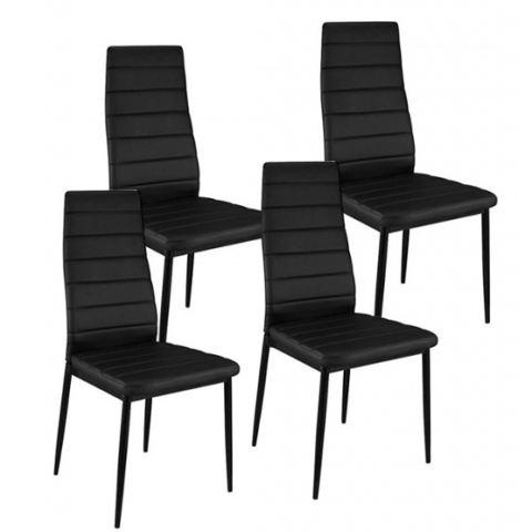 exemple chaise de cuisine noire