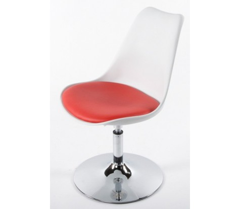 Chaise de cuisine rouge design - Chaise de cuisine design ...
