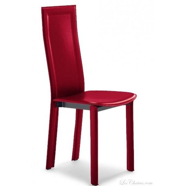 Chaise de salle a manger en cuir pas cher for Chaise de salle a manger pas cher en belgique