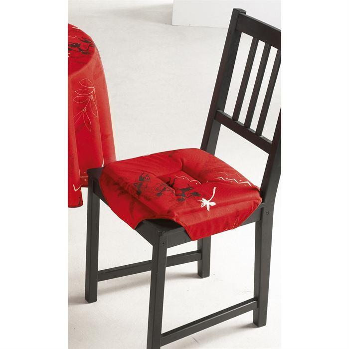 Exemple Galette De Chaise Rouge