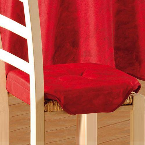 Galette De Chaise Rouge En Ligne