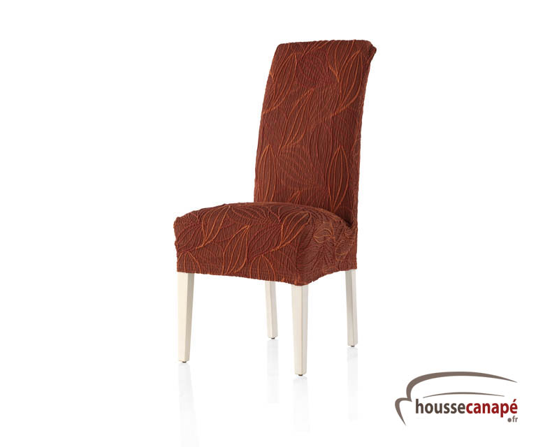 Housse de chaise extensible for Housse de chaise ronde