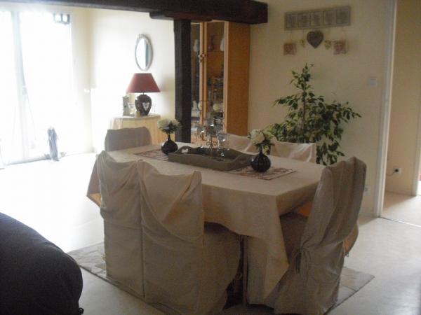 Photo housse de chaise salle a manger - Housse pour chaises salle manger ...
