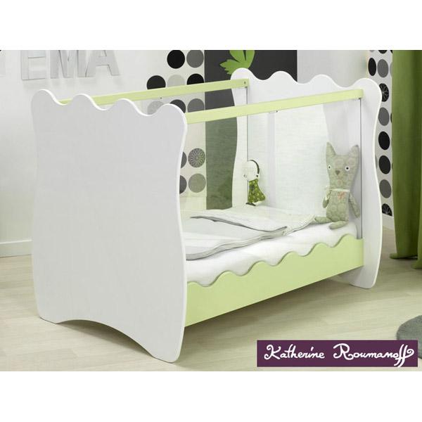 lit bebe vitre. Black Bedroom Furniture Sets. Home Design Ideas