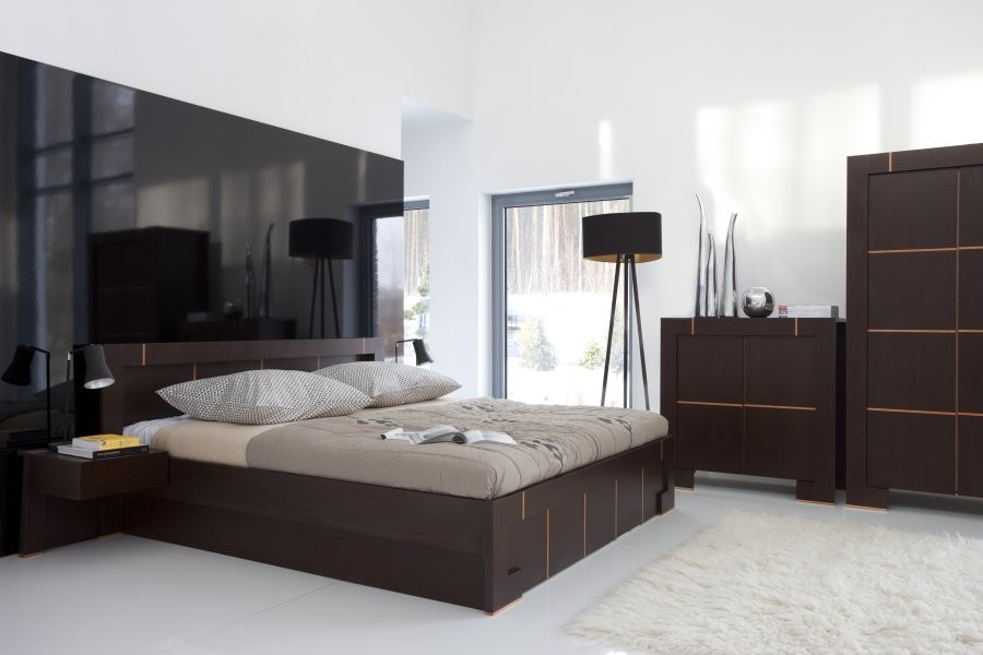 lit deux places design. Black Bedroom Furniture Sets. Home Design Ideas