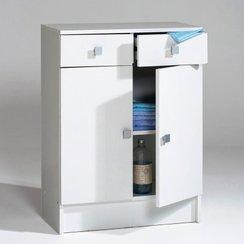 Meuble bas de rangement pour salle de bain for Meuble bas de rangement bois salle de bain