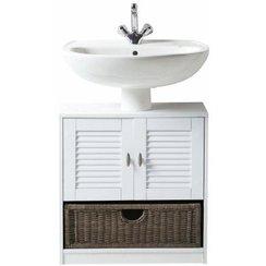 Meuble bas lavabo salle de bain for Meuble sous evier salle de bain pas cher