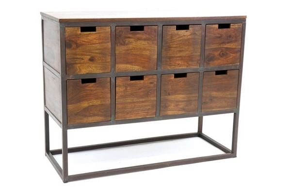 Meuble de bureau fer for Meuble bureau 64