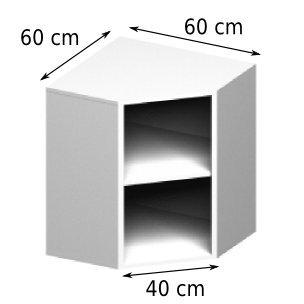 meuble haut de salle de bain d 39 angle. Black Bedroom Furniture Sets. Home Design Ideas