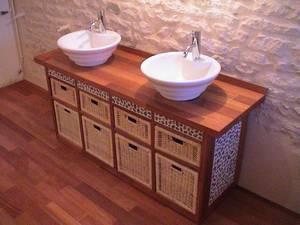 Meuble salle de bain fait maison - Meuble salle de bain fait maison ...