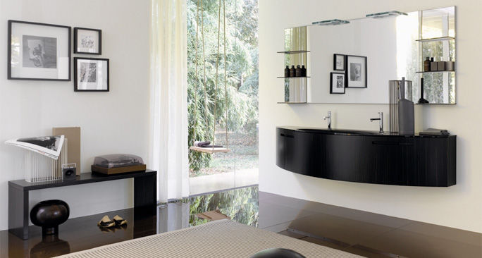 salle de bain haut de gamme. Black Bedroom Furniture Sets. Home Design Ideas