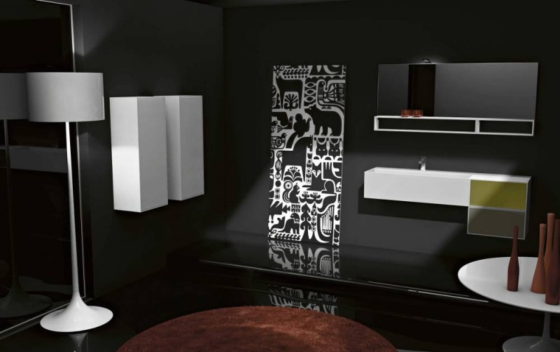 meuble salle de bain haut de gamme italien. Black Bedroom Furniture Sets. Home Design Ideas