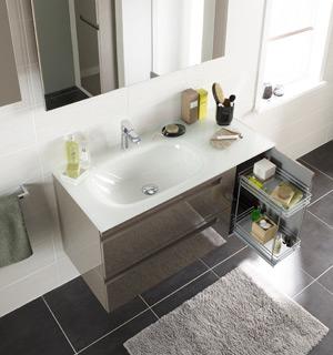 meuble salle de bain faible profondeur lapeyre