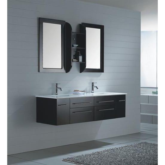 visuel meuble salle de bain wenge pas cher
