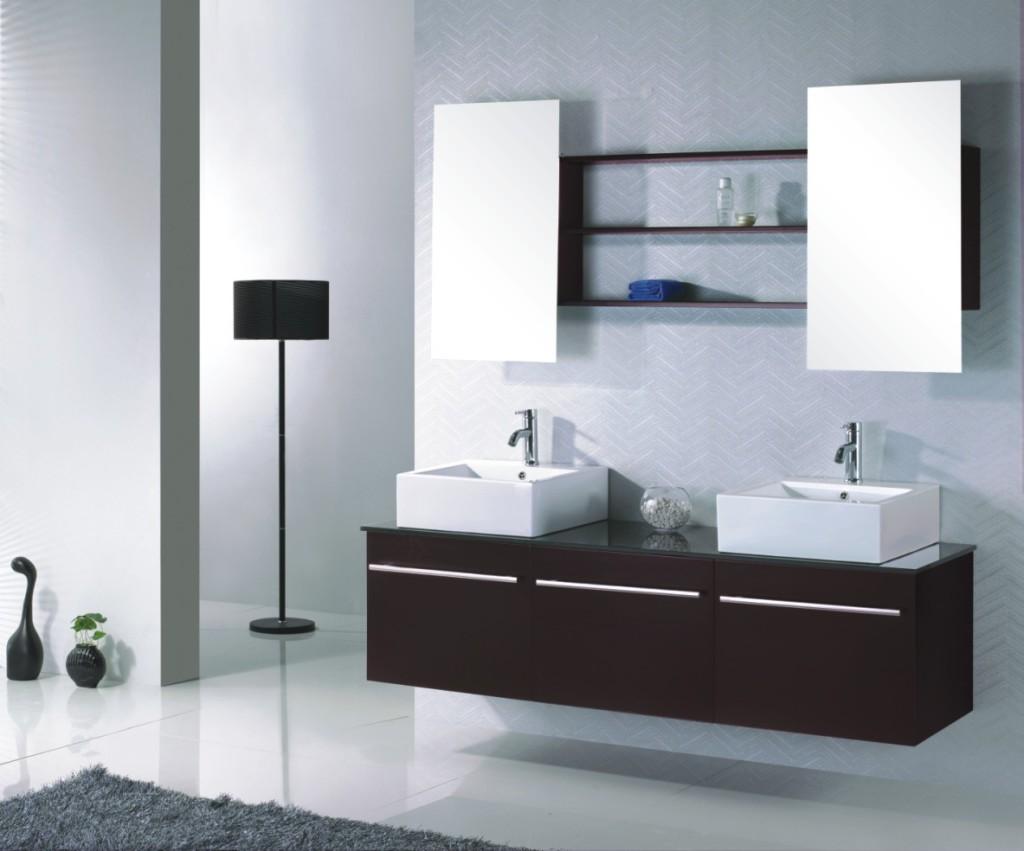 organisation meuble salle de bain wenge pas cher