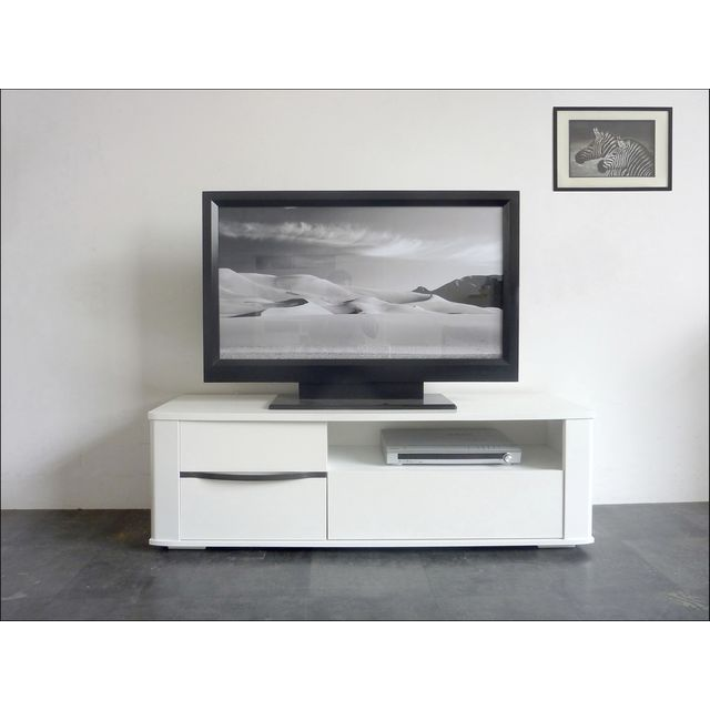 photo meuble tv 80 cm haut