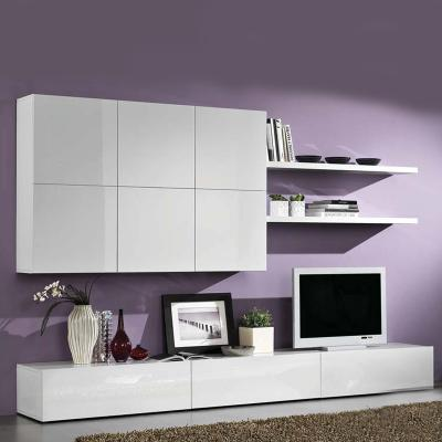 Meuble tv bas et long ikea for Meuble tv long blanc