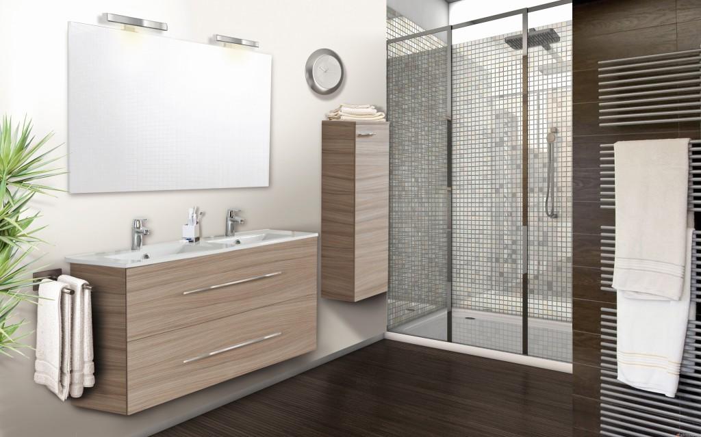 Meuble vasque neova metropolitan - Vasque salle de bain lapeyre ...