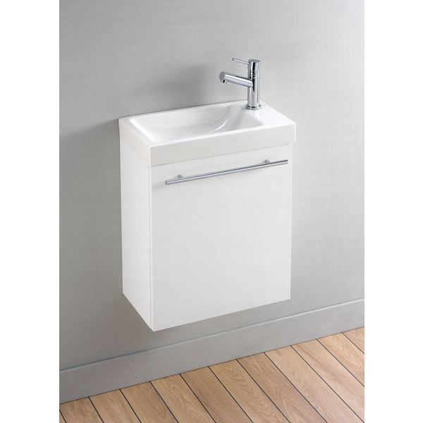 Meuble vasque wc for Meuble vasque wc