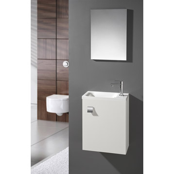 Meuble vasque wc leroy merlin for Meuble avec vasque leroy merlin