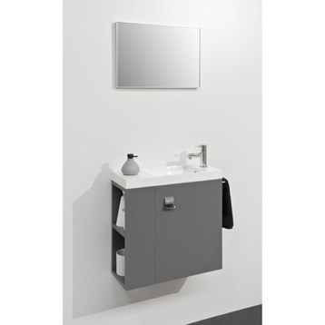 Meuble vasque wc leroy merlin for Meuble wc ikea