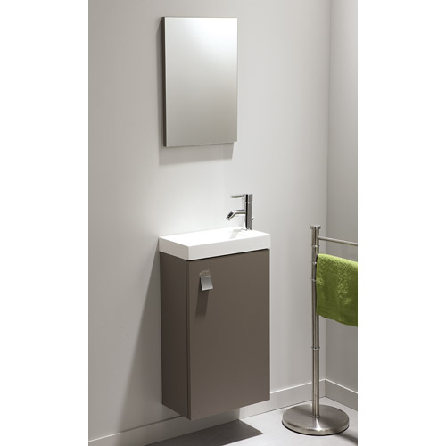 Meuble vasque wc leroy merlin for Meuble salle de bain vasque a poser leroy merlin