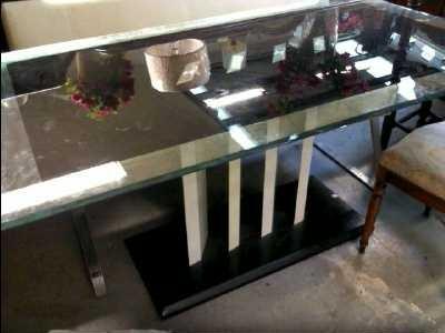 table a manger granit. Black Bedroom Furniture Sets. Home Design Ideas