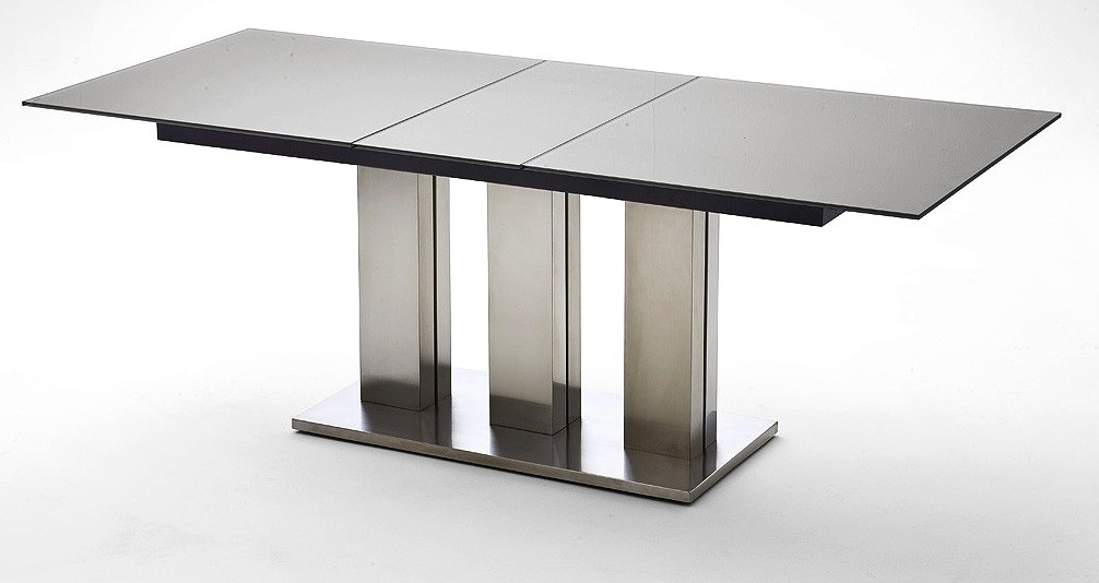 Table a manger rallonge for Table salle a manger design avec rallonge