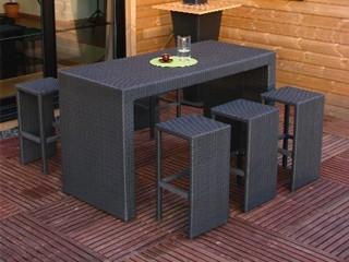 Awesome Table Haute De Jardin En Resine Tressee Ideas - House Design ...
