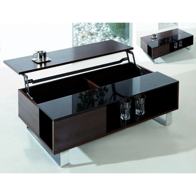 Table Basse 3 Plateaux Fly : Basse table relevable plateau