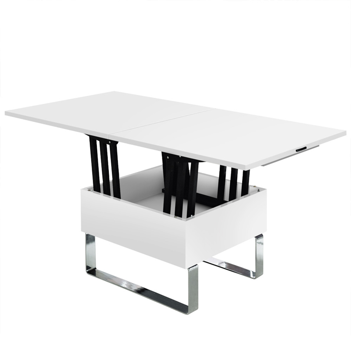 Exemple table basse qui se releve - Table de salon modulable ...