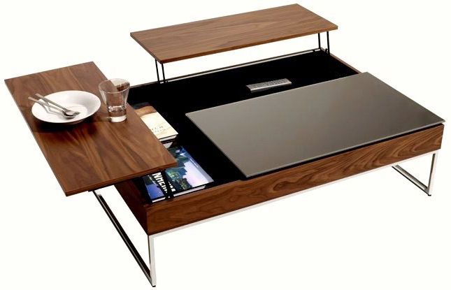 Visuel table basse qui se releve for Table basse qui se leve